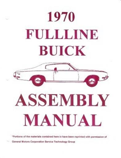 Buick 1970 Lesabre  Electra  Wildcat  Riviera  Skylark