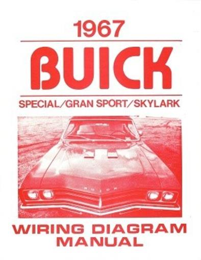 Buick 1967 Special  Gran Sport  U0026 Skylark Wiring Diagram
