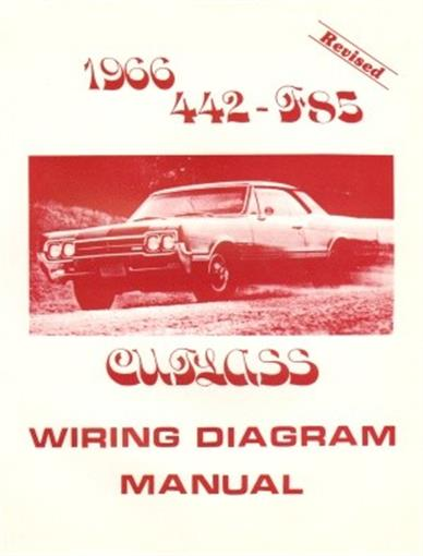 oldsmobile 1966 f85 442 cutlass wiring diagram. Black Bedroom Furniture Sets. Home Design Ideas