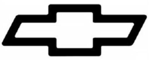 Chevy Bowtie Emblem Stencil This large   CHEVROLET BOWTIE