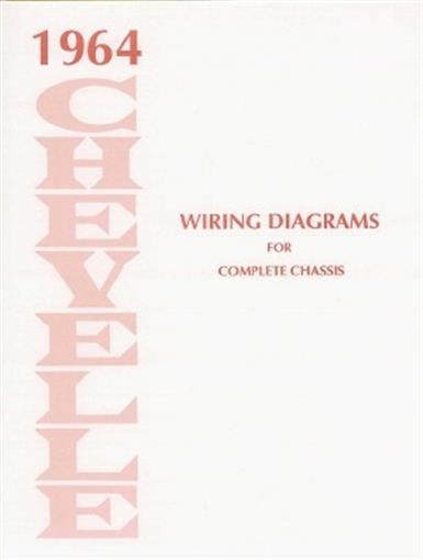 CHEVELLE 1964 Wiring Diagram 64 eBay