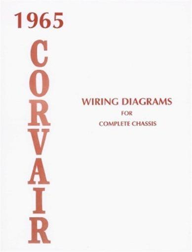Corvair 1965 Wiring Diagram 65
