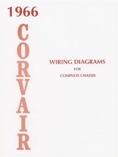 Corvair 1966 Wiring Diagram 66