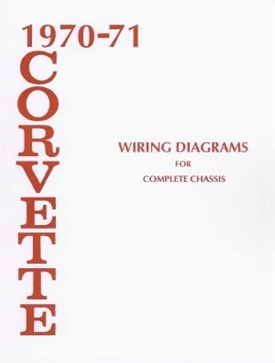 Corvette 1970  U0026 1971 Wiring Diagram 70