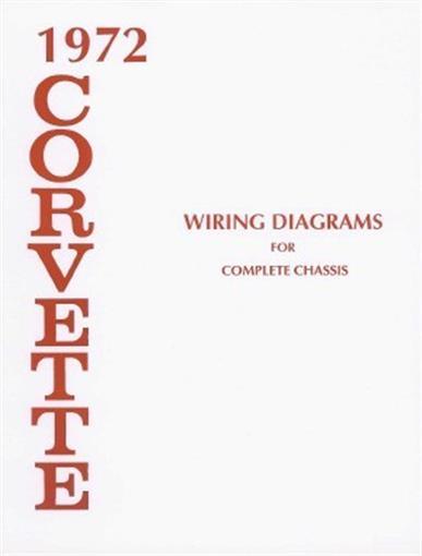 Corvette 1972 Wiring Diagram 72 Vette