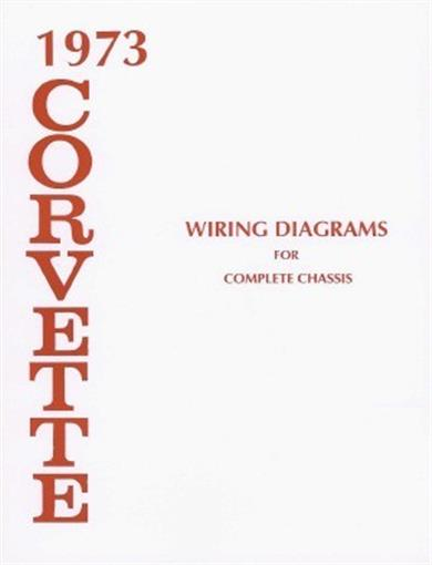 Corvette 1973 Wiring Diagram 73 Vette