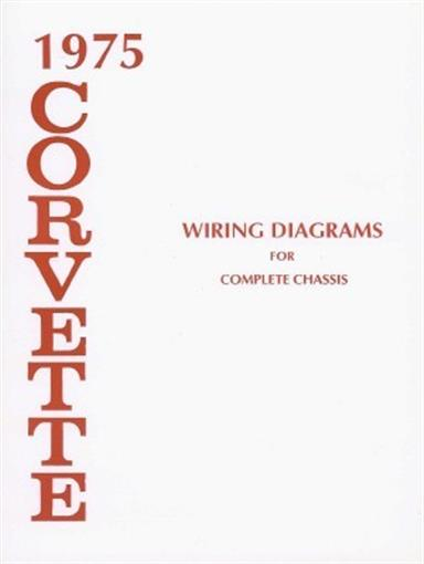 Corvette 1975 Wiring Diagram 75 Vette