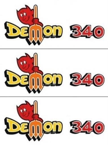 "How Long Does Def Last >> Mopar 1971 & 1972 Dodge ""Demon 340"" Fender & Deck Lid 3 pc Decal Kit | eBay"