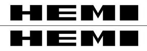 Mopar 1971 Plymouth Road Runner Amp Gtx Quot Hemi Quot Black Fender Decal Set Of 2 Ebay