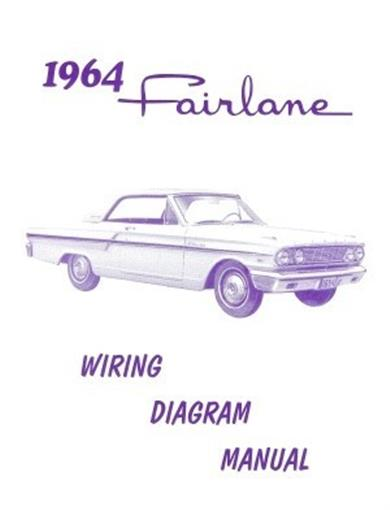 FORD 1964 Fairlane Wiring Diagram Manual 64 | eBay