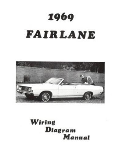 Ford 1969 Fairlane Wiring Diagram Manual 69