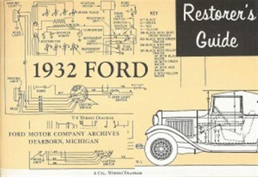 Ford 1932 Restoration Manual 32
