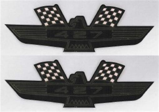 Ford 1963 66 427 Eagle Valve Cover Decal Ebay