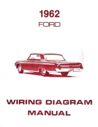 1962 Ford Fairlane Wiring Diagram : Ford galaxie ranch wagon country squire wiring