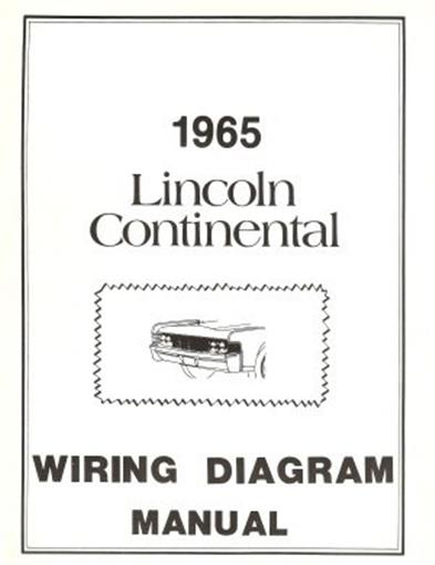lincoln 1965 continental wiring diagram manual 65 ebay. Black Bedroom Furniture Sets. Home Design Ideas