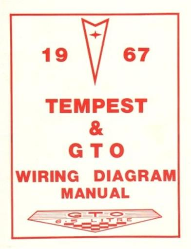pontiac 1967 tempest gto wiring diagram 67 ebay. Black Bedroom Furniture Sets. Home Design Ideas