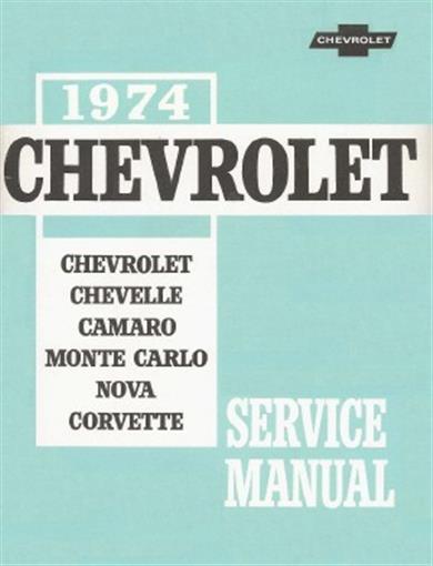 Chevrolet 1974 Camaro  Nova  Chevelle  Monte Carlo  U0026 El