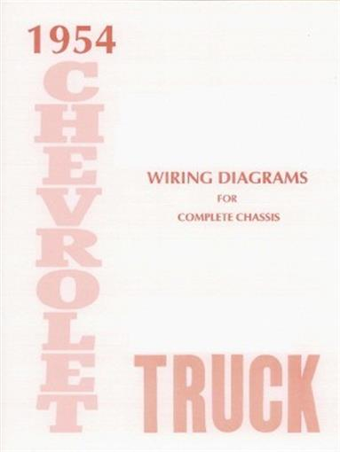 Chevrolet 1954 Truck Wiring Diagram 54 Chevy Pick Up