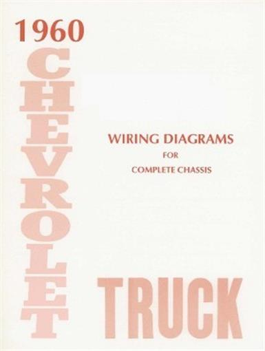 chevrolet 1960 truck wiring diagram 60 chevy pick up ebay. Black Bedroom Furniture Sets. Home Design Ideas