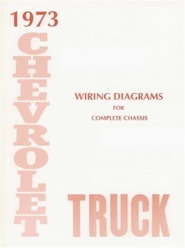 CHEVROLET 1973 Truck Wiring Diagram 73 Chevy Pick Up