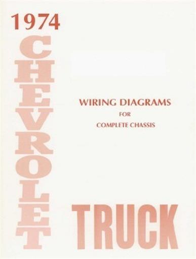chevrolet 1974 truck wiring diagram 74 chevy pick up