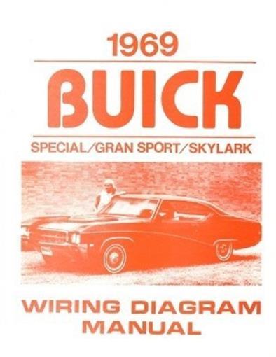 buick 1969 special gran sport skylark wiring diagram 69 ebay rh ebay com
