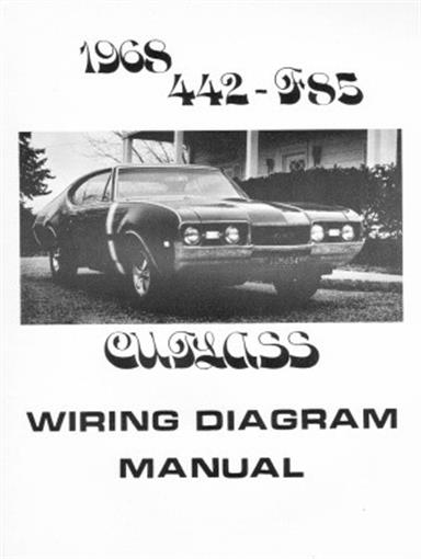 OLDSMOBILE 1968 F85, 442 & Cutlass Wiring Diagram | eBay