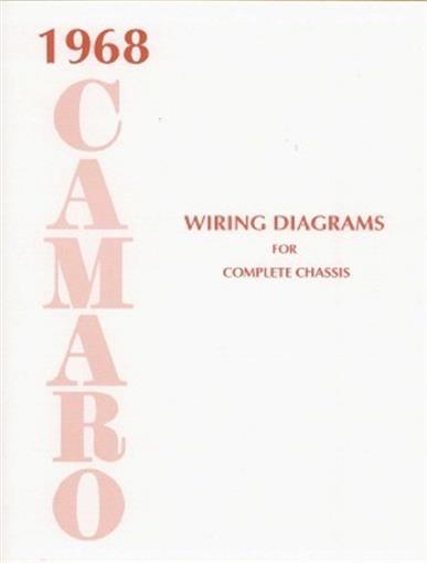 CAMARO 1968 Wiring Diagram 68 | eBay