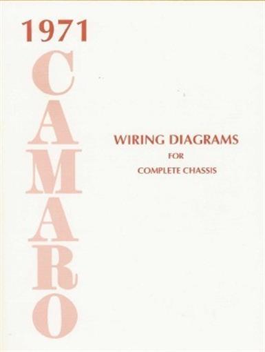 Camaro 1971 Wiring Diagram 71