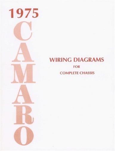Camaro 1975 Wiring Diagram 75
