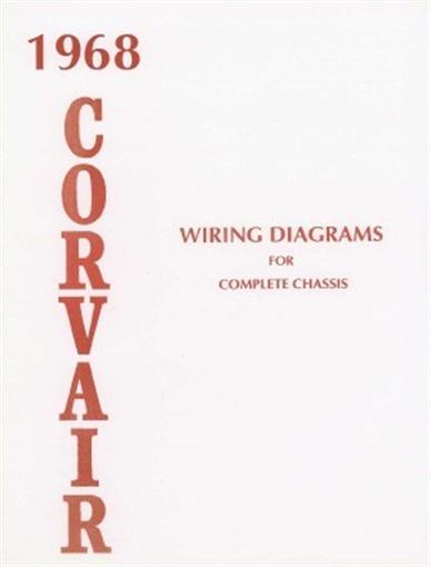 Corvair 1968 wiring diagram 68 ebay this brand new chevrolet corvair wiring diagrams booklet measuring 8 x 11 has 8 pages covering the complete body chassis including engine compartment asfbconference2016 Gallery