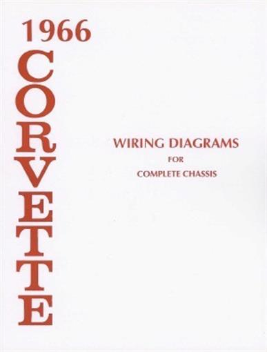 Corvette 1966 Wiring Diagram 66 Vette