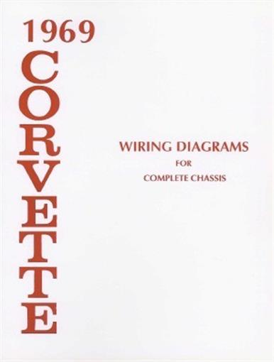 this chevrolet corvette wiring diagrams booklet measuring 8 ½ x 11, has 8  pages covering the complete body & chassis including fuse panel wiring,