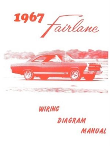 FORD 1967 Fairlane Wiring Diagram Manual 67 | eBay