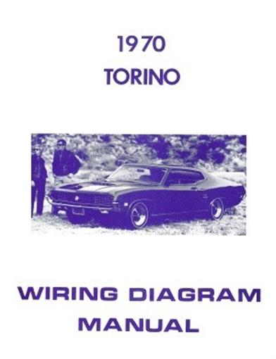 ford 1970 torino wiring diagram manual 70 ebay Ford Alternator Wiring Diagram details about ford 1970 torino wiring diagram manual 70