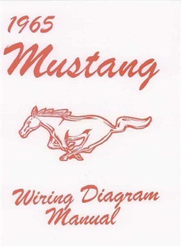 Mustang 1965 Wiring Diagram Manual 65