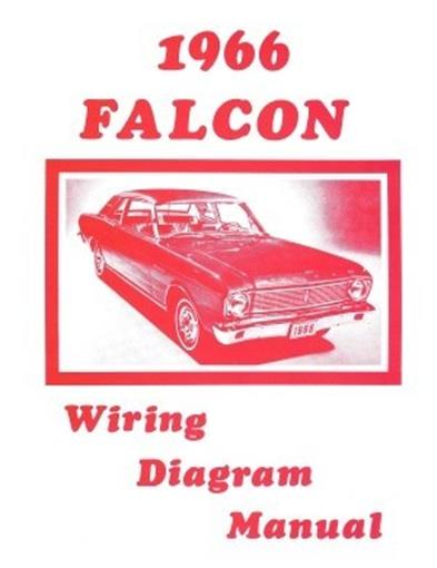 [XOTG_4463]  FORD 1966 Falcon Wiring Diagram Manual 66 | eBay | 1966 Falcon Wiring Diagrams |  | eBay