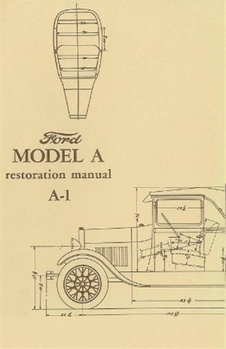 ford 1928 1931 model a specification restoration manual ebay rh ebay com Ford Model A Restoration Model a Body Restoration