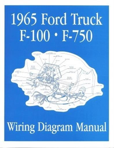this listing is for one brand new 1965 ford truck wiring diagram manual  covering f100 through f750 trucks  measuring approximately 8-3/8 x 10-3/4  inches,
