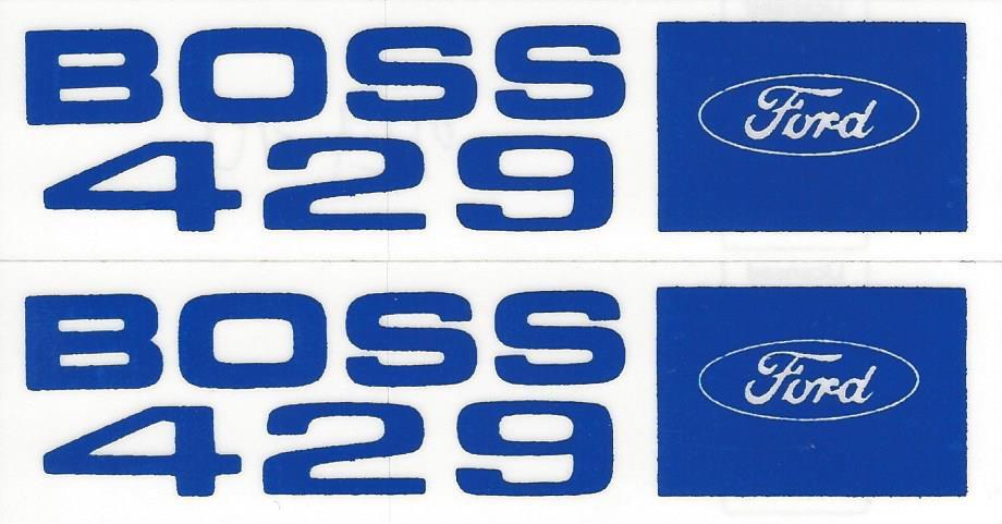 Mr Gasket Engine Valve Cover Gasket Set 3464S; for Ford Boss 429 HEMI