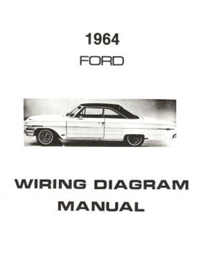 ford 1964 custom, galaxie, ltd \u0026 country squire wiring diagramthis listing is for one brand new 1964 ford full size car wiring diagram manual covering the ford custom, ford custom 500, galaxie 500, galaxie 500 xl and