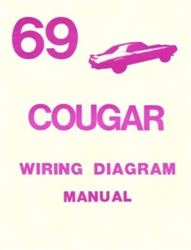 cougar 1969 xr7 wiring diagram manual 69 ebay dash lights diagram cougar 1969 xr7 wiring diagram manual 69
