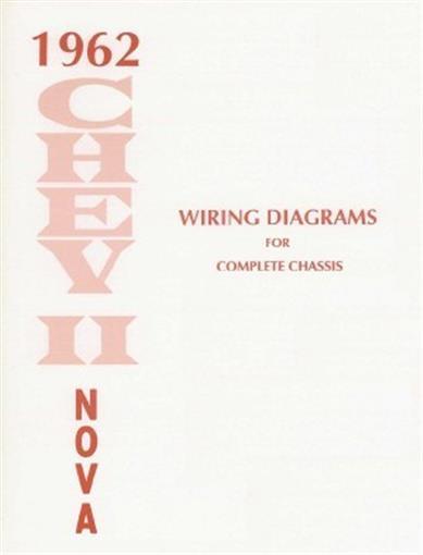 Chevy Ii  Nova 1962 Wiring Diagram 62