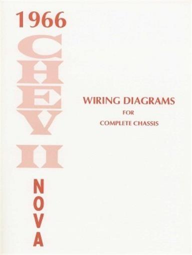this 1966 chevy ii and nova wiring diagrams booklet measuring 8 � x 11,  covering the complete chassis, power windows & seats, a/c, directional  signals,