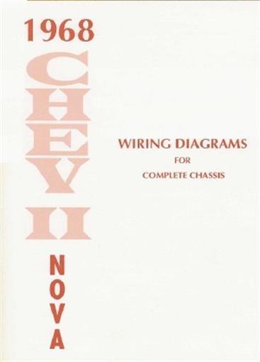 CHEVY IINOVA    1968    Wiring    Diagram    68   eBay