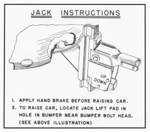 oldsmobile 1949  1950  1951  1952  u0026 1953 jacking