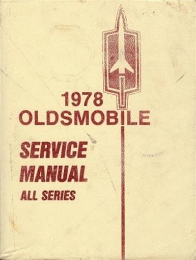 Oldsmobile Vintage Original 1978 Cutlass 98 88 Omega