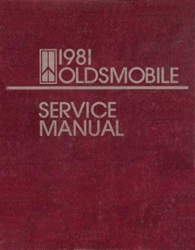 Oldsmobile Vintage Original 1981 Cutlass Supreme 98 88