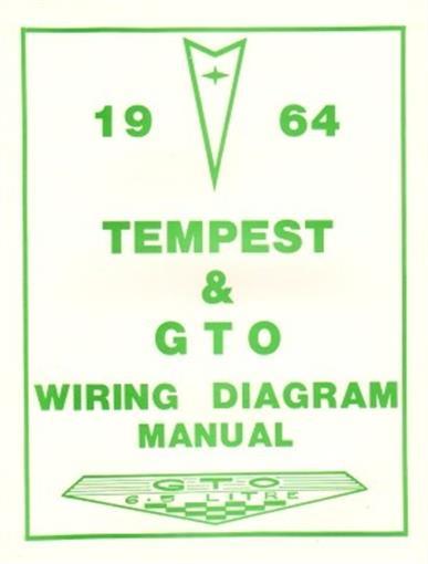 PONTIAC 1964 Tempest & GTO Wiring Diagram 66 | eBay
