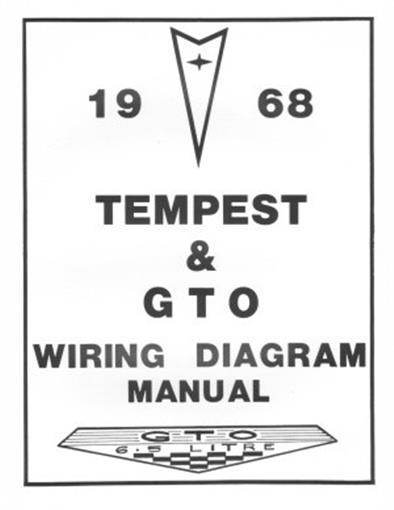 pontiac 1968 tempest gto wiring diagram 68 ebay rh ebay com House Fuse Box Wiring Diagram House Fuse Box Wiring Diagram